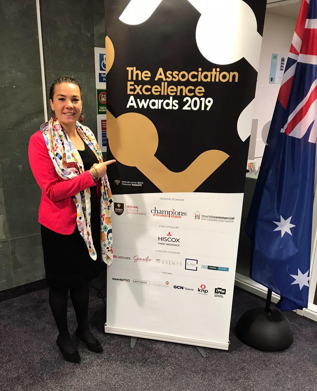 Blanche Savereux aux Association Excellence Awards 2019