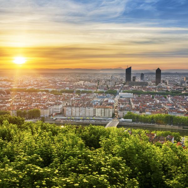 Les meilleurs points de vue sur Lyon - Lyon France