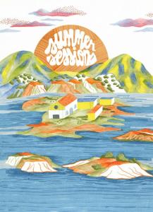 Affiche des summer sessions 2021 au Transbordeur