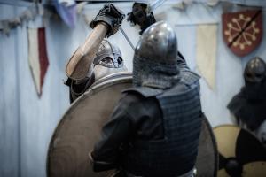 Festival Yggdrasil - Chevaliers © Pierre Net ¨Photographie