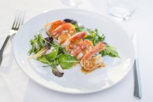 Assiette gourmande des Bateaux Lyonnais © Dominik Fusina
