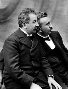 Auguste et Louis Lumière, 1895