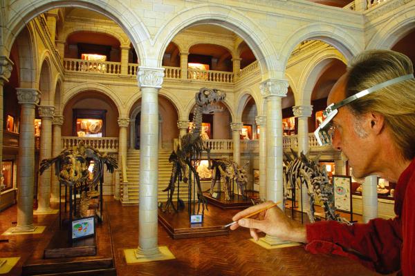 L'ancien musée Guimet miniaturisé par Dan Olhmann © Musée Miniature et Cinéma
