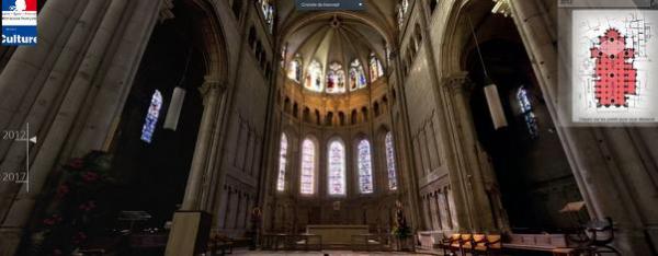 Visite virtuelle des travaux de restauration - DRAC Rhône-Alpes