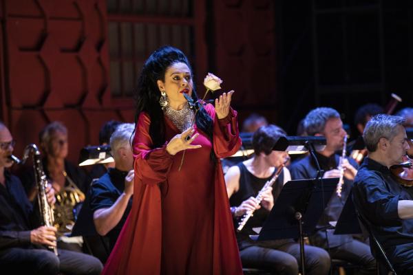 Catherine Malfitano  Tosca de Puccini à l'Opéra de Lyon © jean-Louis Fernandez