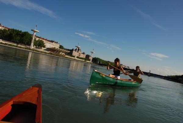 Lyon Kayak sur le Rhône