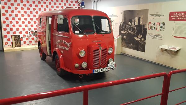 Musée des sapeurs-pompiers Lyon-Rhône