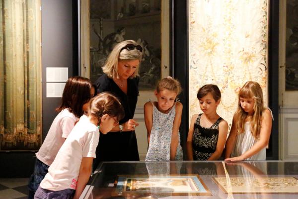 Visite insolite. © Lyon, musée des Tissus / Sylvain Pretto