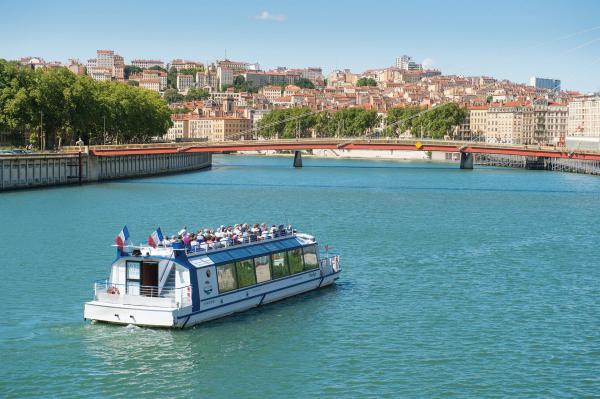 Croisière promenade sur la Saône avec les Bateaux Lyonnais