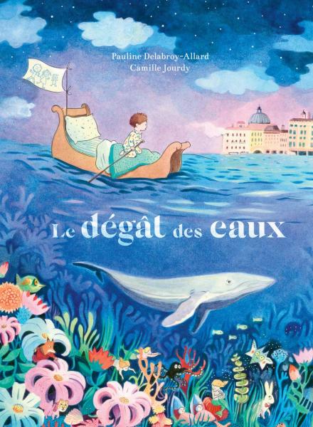 Le Dégât des eaux, de Pauline Delabroy-Allard (texte) et Camille Jourdy (illustration), éd. Thierry Magnier