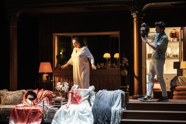 Tosca à l'Opéra de Lyon © Jean-Louis Fernandez