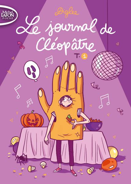 Le Journal de Cléopâtre, tomes 1 et 2, Maureen Wingrove, éditions Michel Lafon poche.