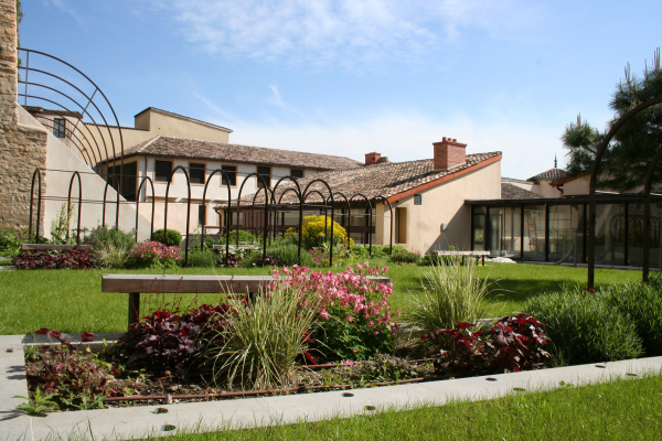 Le jardin des musées Gadagne © musées Gadagne - P. Meyer