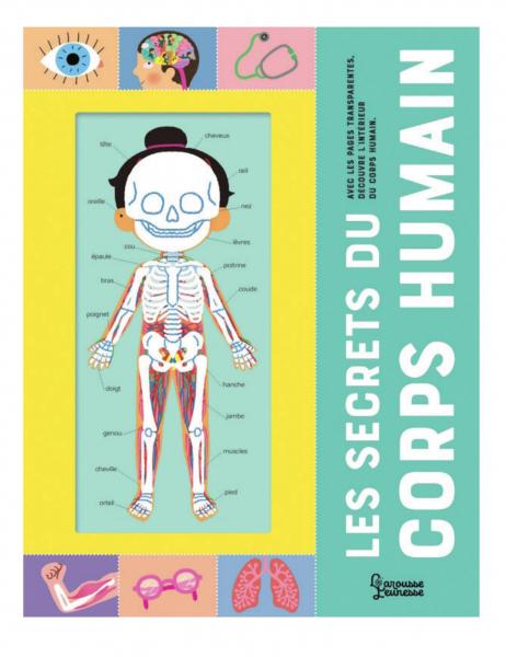 Les Secrets du corps humain, de Mélisande Luthringer (illustrations), éd. Larousse jeunesse