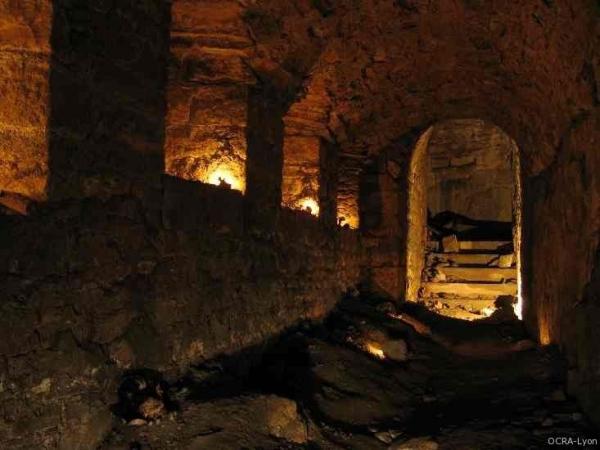 Visite des souterrains du Fort de Vaise avec Ocra Lyon © Ocra Lyon