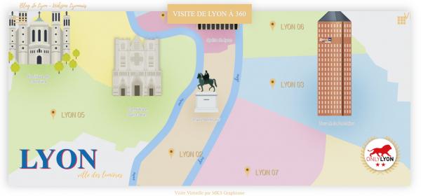 Visite de Lyon à 360 - Blog in Lyon