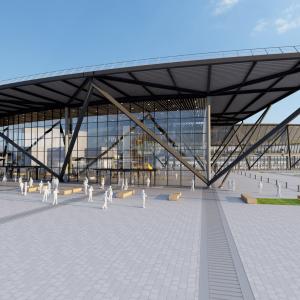 Le nouveau Terminal 1 de l'aéroport de Lyon Saint-Exupéry