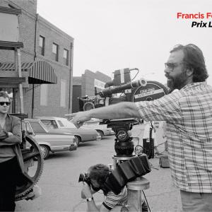 Francis Ford Coppola en tournage - Affiche officielle du festival Lumière 2019 © Christian Simonpietri / Getty Images