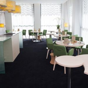 Salle du Restaurant le Neuvième Art