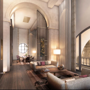InterContinental Lyon - Hôtel-Dieu - la suite présidentielle