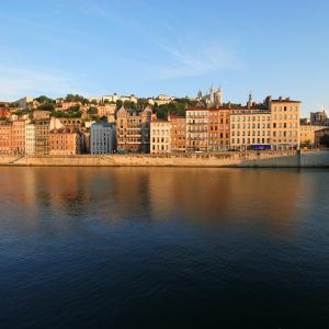 Les quais de Saône et le Vieux-Lyon  © Marie Perrin / ONLYLYON Tourisme et Congrès