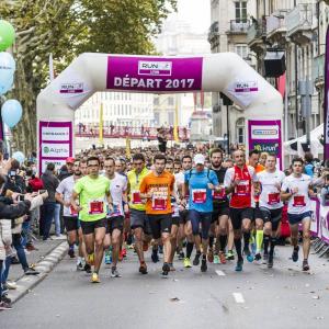 Marathon et Semi-Marathon - Lyon - Départ ASO/P.Charlier