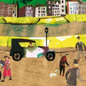 Illustration originale tirée du livre « Les caractères vivants », collage, 2016