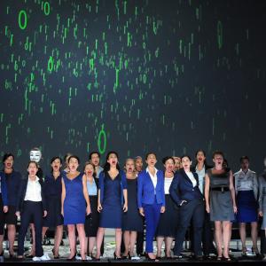 Macbeth de Verdi à l'Opéra de Lyon © Jean-Pierre Maurin