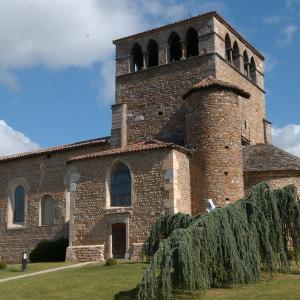 L'église de Montanay  © Ville de Montanay