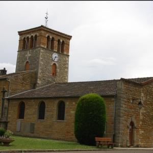 Eglise de Cailloux © Ville de Cailloux