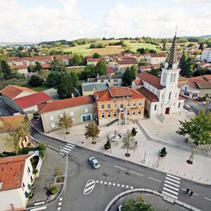 Centre ville de Mions