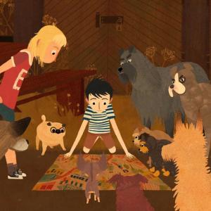 Jacob et les chiens qui parlent de Edmunds Jansons