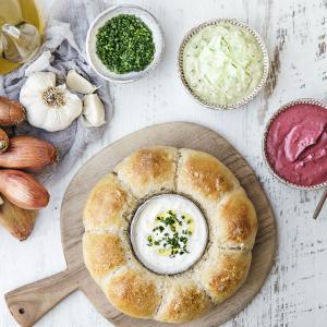 Cervelle de canuts en couronne de pain © Stéphanie Iguna - Food Factory