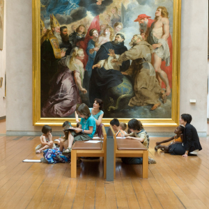 Atelier enfant au Musée des Beaux-arts de Lyon