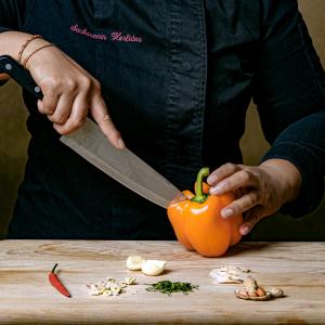 Cours de cuisine de Coriandre et Citronnelle © Olivier Graff