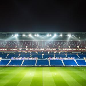 Groupama Stadium - Olympique Lyonnais © Cecile Creiche/Shutterstock.com