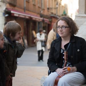 Visite musicale et contée du Vieux-Lyon pour les tout-petits avec Cybèle © Cybèle