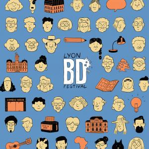 Affiche du Lyon BD festival 2021