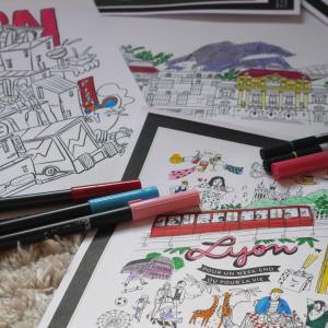 Inside Lyon coloriages de Lyon
