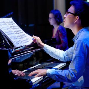 pianiste étudiant au CNSMDL © Blaise Adilon