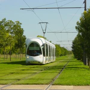 Le tramway lyonnais © Arnaud Aimain / RUL