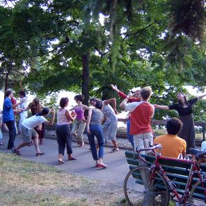 Bal Renaissance au Parc de la Tête d'Or © Ensemble Boréades