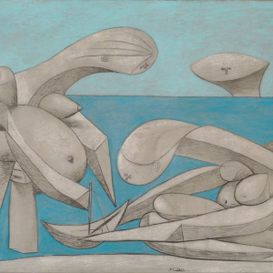 Pablo Picasso, « La Baignade », 12 février 1937. Venise, Peggy Guggenheim Collection, Venice ; The Solomon R. Guggenheim Foundation, New York. © Succession Picasso 2020. Image © Peggy Guggenheim Museum