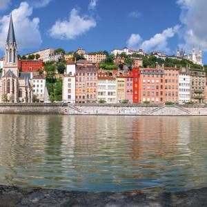 Les quais de saône © Xavier Béguet / Zefoto