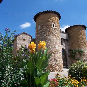 Tours de l'entrée du Château de Lissieu