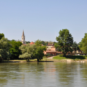 Vue de Vernaison © Mairie de Vernaison