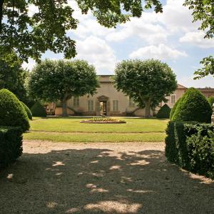 Domaine Melchior Philibert (jardins à la française) à Charly © Ville de Charly