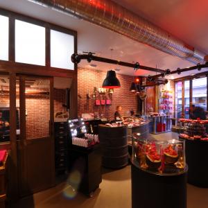 Boutique chocolats Bouillet © Sebastien Bouillet