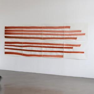 Vue de l'exposition Silvia Bächli, Interstices © La BF15, 2021