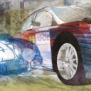 Affiche 2018 Rallye Lyon-Charbonnières